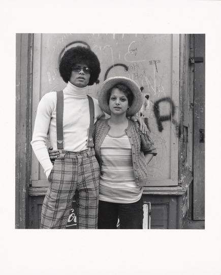 Michael and Pam; Milton Rogovin (American, 1909 - 2011); Buffalo, New York, United States; 1973; Gelatin silver print; 17.9 × 17.4 cm (7 1/16 × 6 7/8 in.); 97.XM.43.3.1 © Milton Rogovin - Courtesy The J. Paul Getty Museum, Los Angeles
