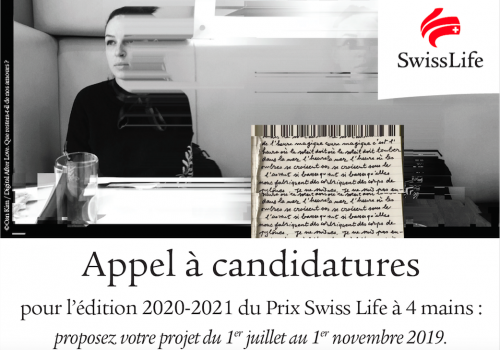 Swiss Life 4 Hands Prize 2020-2021 Call for entries