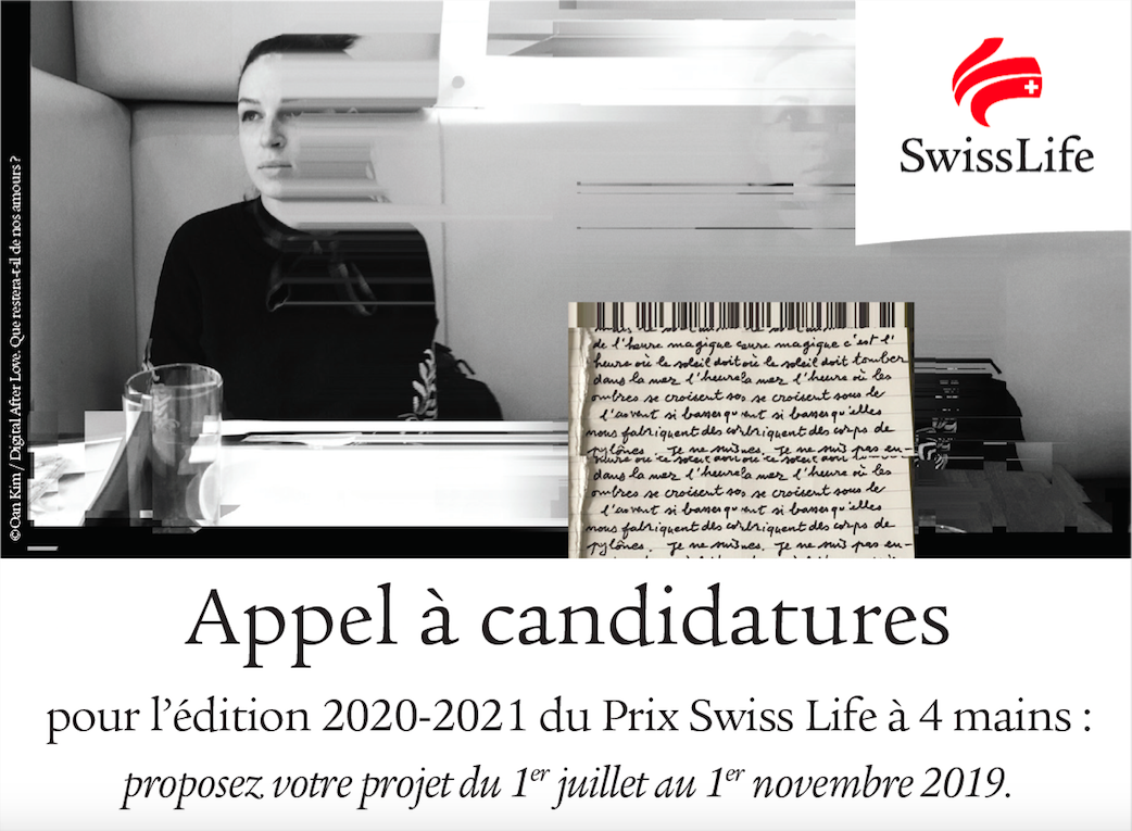 Prix photo Appel à candidatures du Prix Swiss Life à 4 mains 2020-2021
