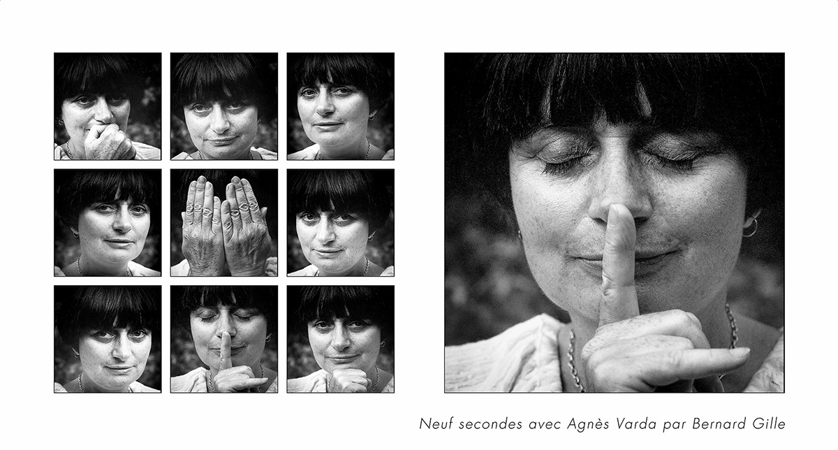 Agnès Varda © 1983 Bernard Gille [courtesy Optim'Art]