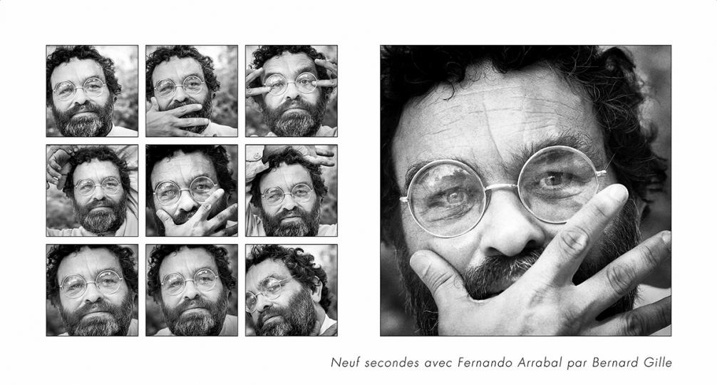 Fernando Arrabal © 1983 Bernard Gille [courtesy Optim'Art]