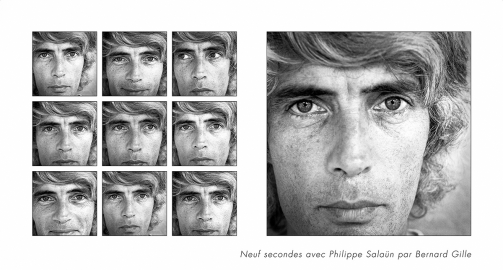 Philippe Salaün © 1983 Bernard Gille [courtesy Optim'Art]