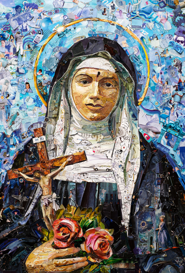Santa Rita de Cassia © Vik Muniz – Courtesy Collection Lambert