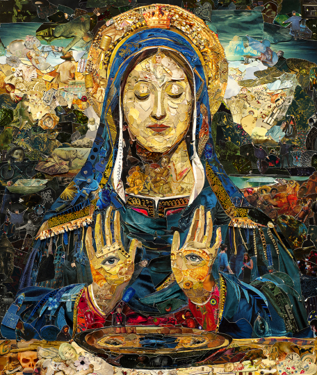 Saint Lucy © Vik Muniz – Courtesy Collection Lambert