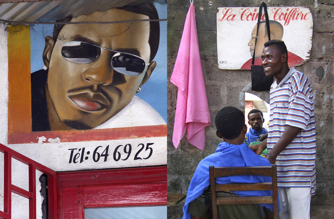 Brazzaville : Auto portrait © Jill Hartley