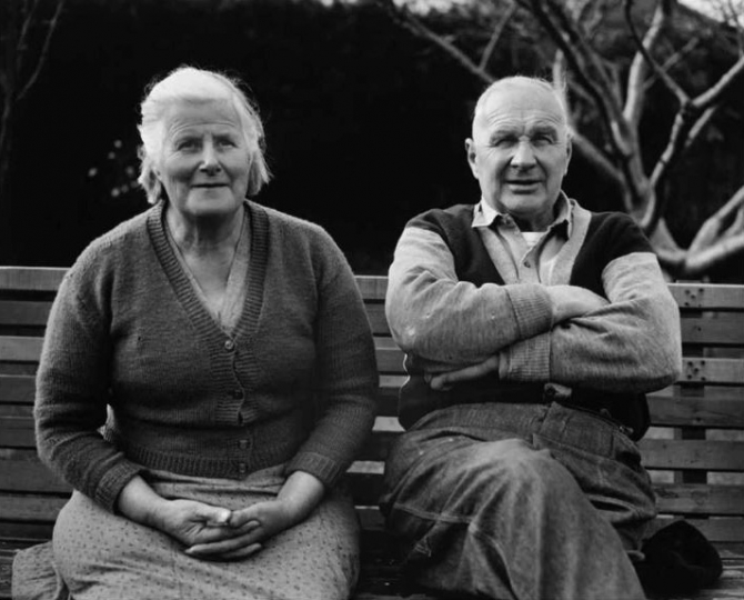 "Mal and Freda Turner, Lower Hutt, 1967 © John B. Turner – From ""The New Photography"""