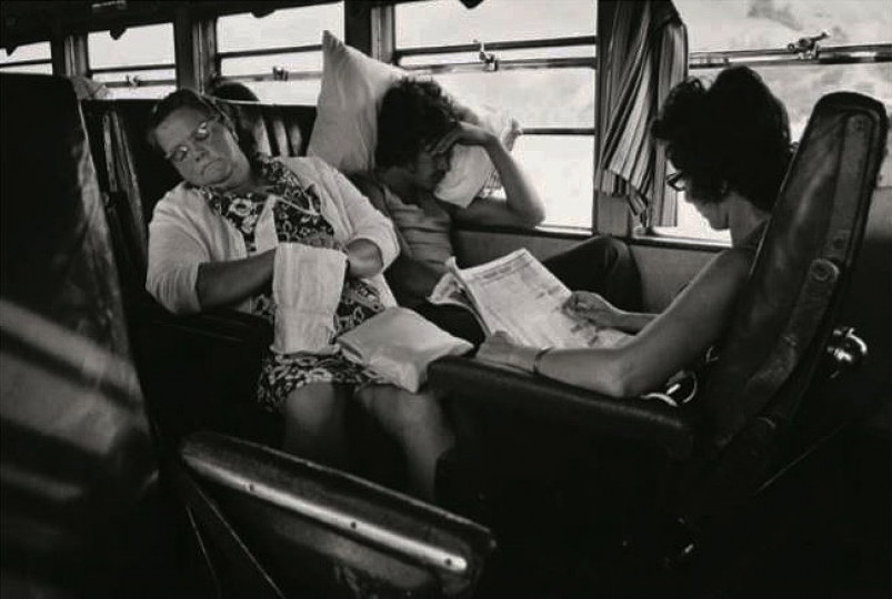 "Strangers, Auckland-Wellington Express, 1973 © John B. Turner – From ""The New Photography"""