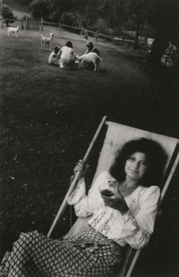 "Garden party guest, Kemp House, Kerikeri, 1976 © John B. Turner – From ""The New Photography"""