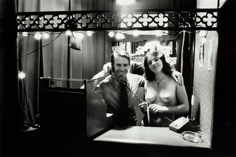 "Las Vegas Strip Club, Karangahape Road, Auckland, 1974 © John Daley – From ""The New Photography"""