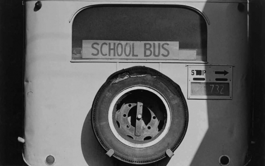 "Bus, Coromandel, 1969 © John Fields – From ""The New Photography"""