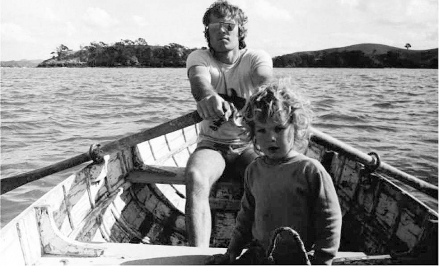 "Gary Baigent and his son Clinton, 1971© Leonie Batchelor – From ""The New Photography"""