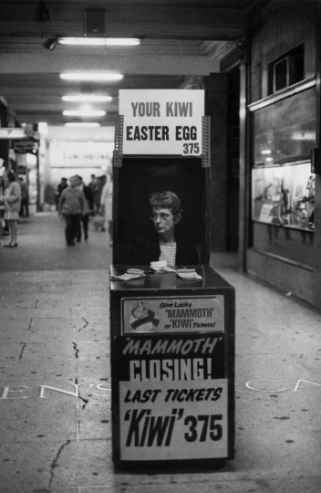 "Easter egg, Auckland 1969 © Richard Collins – From ""The New Photography"""