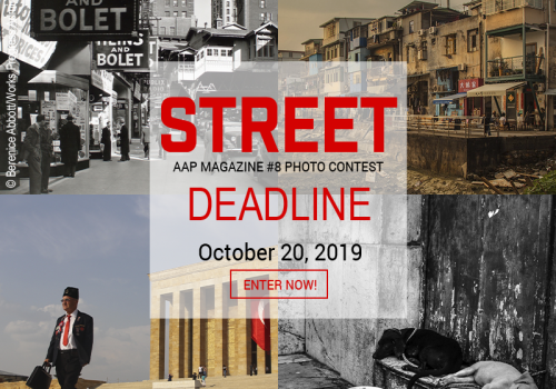 Call for Entries for the AAP Magazine #8 Street Photography Contest