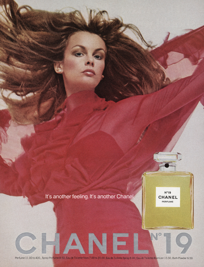 Jean Shrimpton for Chanel, 1974 - Photograph by Richard Avedon © The Richard Avedon Foundation