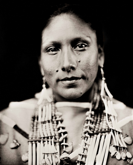 """Brave Heart Woman"" Floris White Bull Standing Rock Hunkpapa Lakota 22 December 2018 