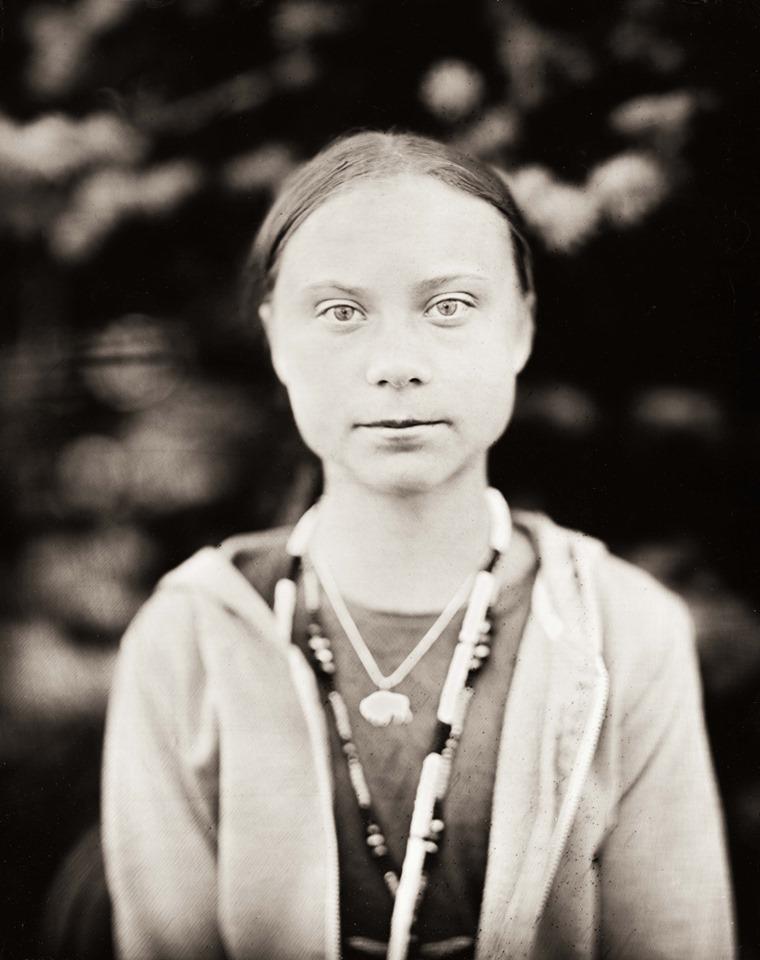 Greta Thunberg par Shane Balkowitsch