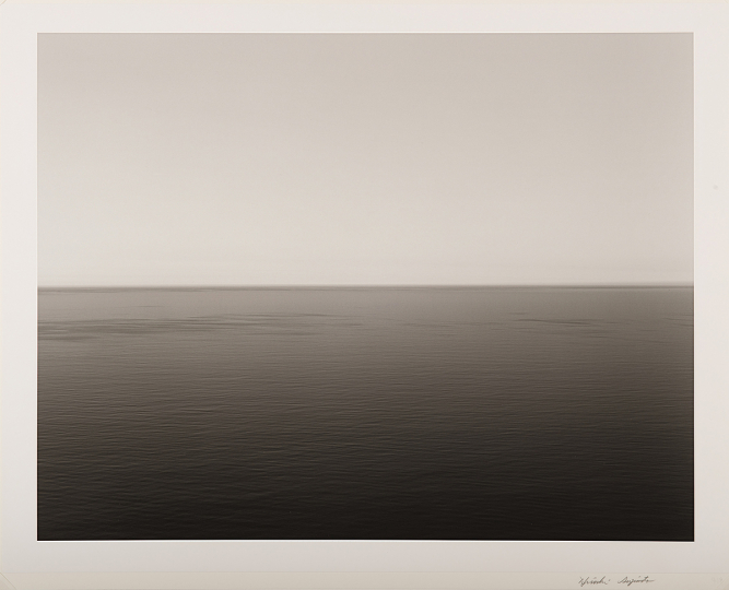 Hiroshi Sugimoto, English Channel, Weston Cliff, 1994 - Courtesy Phillips New York