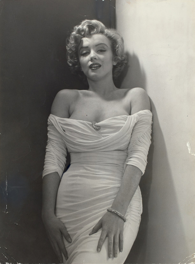 Phillipe Halsman, Marilyn Monroe, 1952 - Courtesy Phillips New York