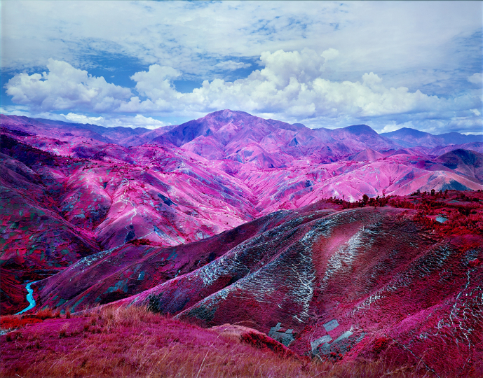 Richard Mosse, Remain in Light, 2015 - Courtesy Phillips New York