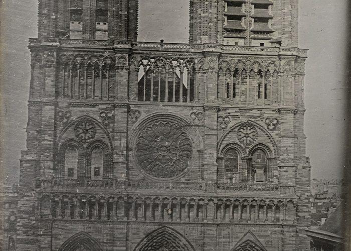 Sotheby's : Notre-Dame de Paris par Vincent Chevalier, circa 1840