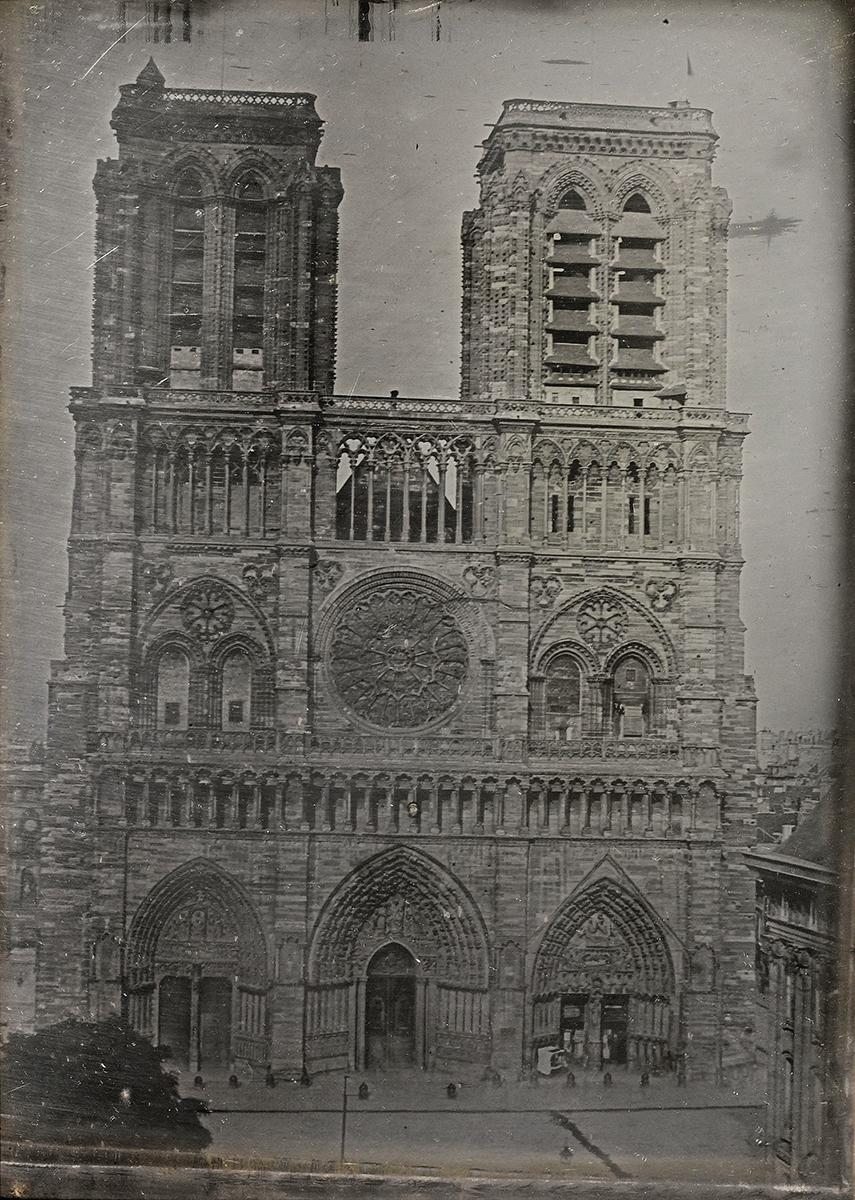 Sotheby's: Notre Dame de Paris by Vincent Chevalier, circa 1840