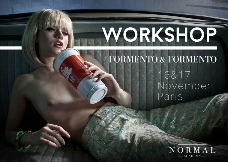 Atelier photo Masterclass et workshop avec Formento + Formento à la Normal Academy