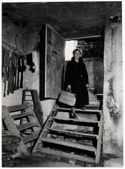 German refugee coming back at her home Germany, Munich, 1946 Photographer: Walter Brunne © ICRC archives