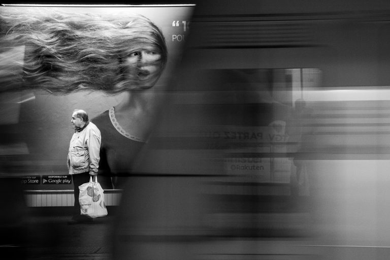 Sébastien Durand - Subway travel companions
