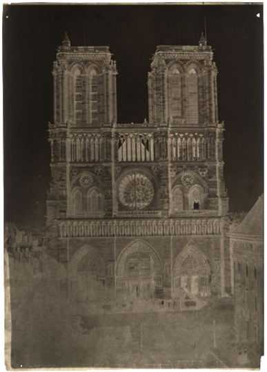 Charles NÈGRE (French, 1820-1880) Notre-Dame, Paris, circa 1853 - Courtesy Hans P. Kraus Fine Photographs