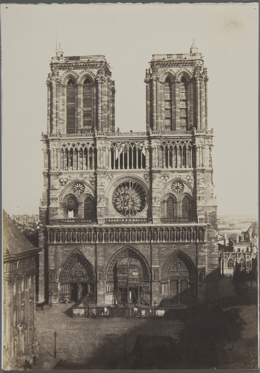 Charles NÈGRE (French, 1820-1880) Notre-Dame, Paris*, circa 1853 - Courtesy Hans P. Kraus Fine Photographs