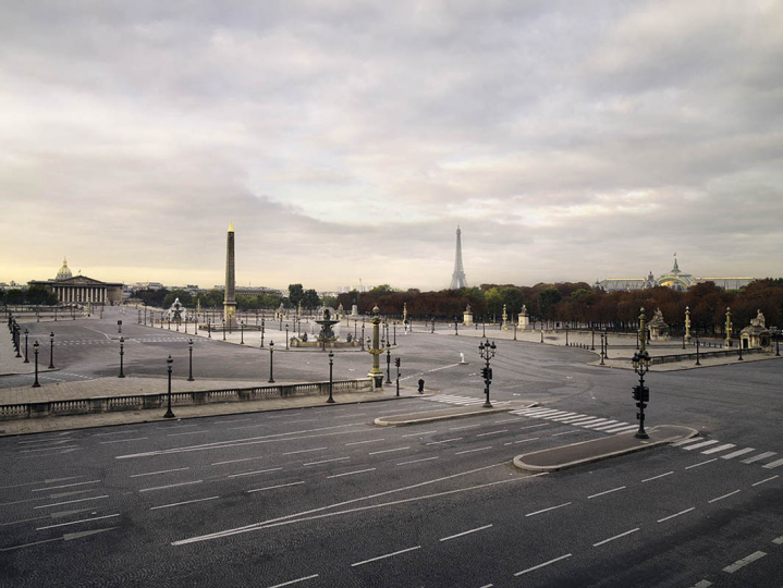 Place de la Concorde - Série Memories of a silent world 2008-2013 © Brodbeck de Barbuat