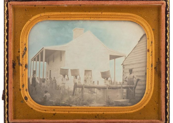 A Rare Antebellum Image of Slavery in Georgia sold for $ 324,500