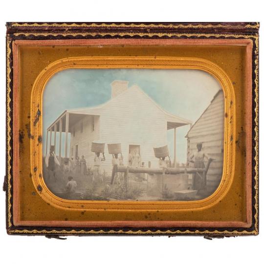 Une image rare pré Guerre Civile de l'esclavage en Géorgie vendue 324 500 $