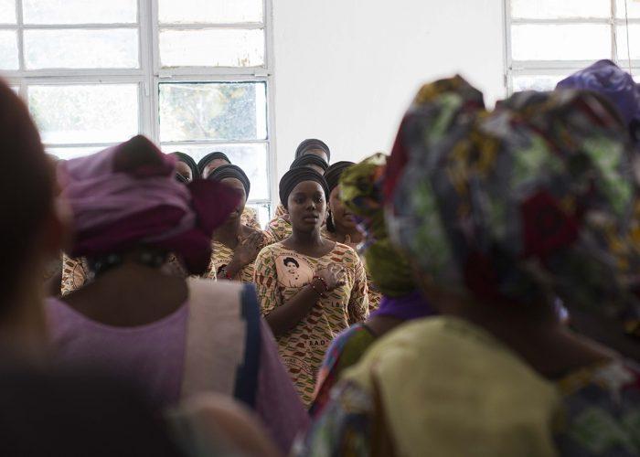 Émotions au Lycée des Jeunes Filles lors des Rencontres de Bamako 2019