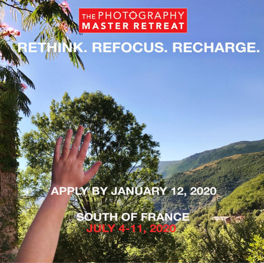 6th Edition of Photography Master Retreat 2020: July 4-11, 2020, 6ème édition du Photography Master Retreat 2020 : 4-11 juillet 2020