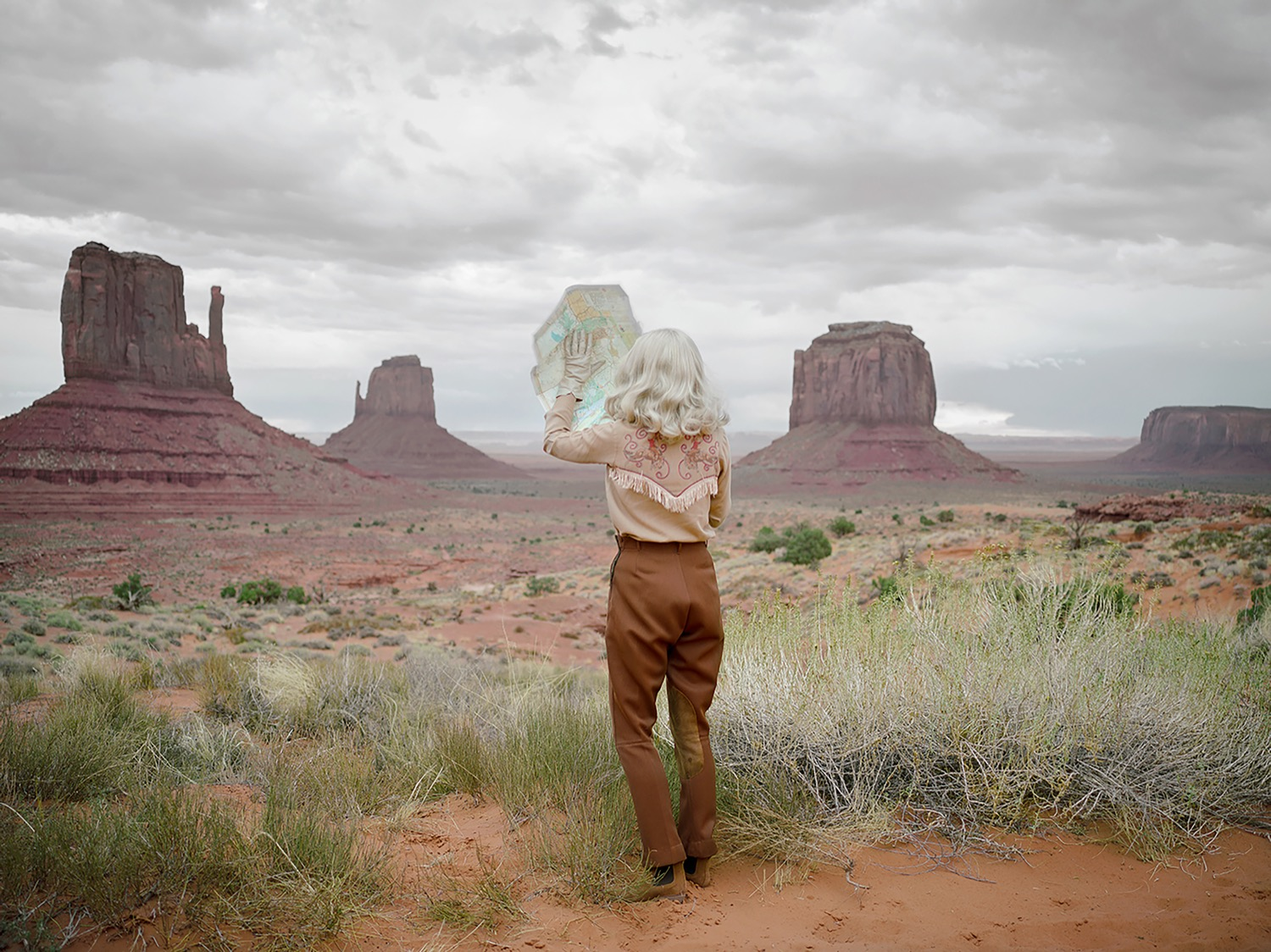 ©Anja Niemi, The Fictional Roadtrip, 2018, courtesy of Galerie XII