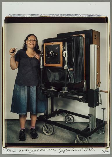 MFA : Elsa Dorfman : Me and My Camera