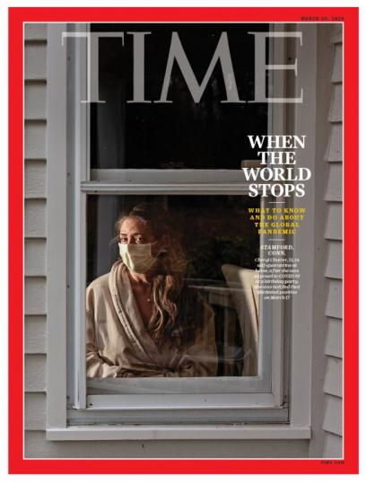 Time magazine et le coronavirus