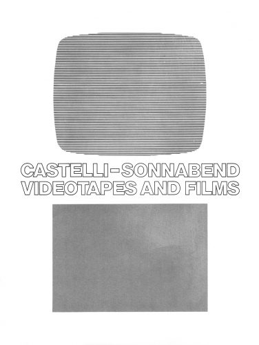 Leo Castelli / Sonnabend Videotapes and Films