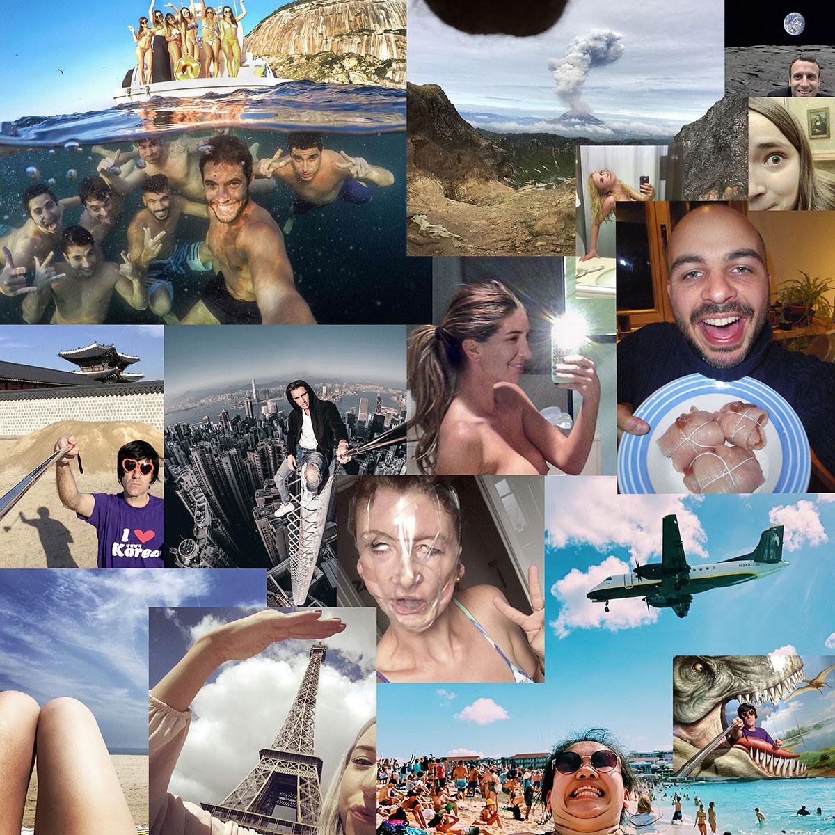 Villa Pérochon – CACP : Olivier Culmann : Selfies Ego/Egaux
