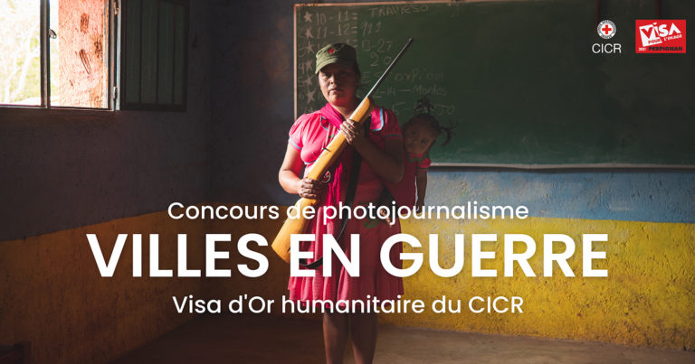 Launch of the 11th edition of the CICR Humanitarian Visa d'Or